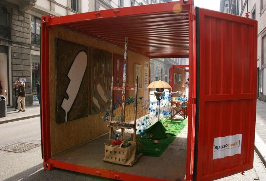 Container per eventi bagni e biglietteria phoenix international